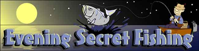 "The ""Evening Secret"" will swarm fish to you sport and DOUBLE your catches!"